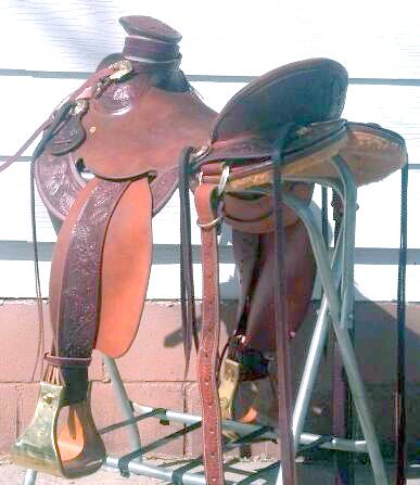 My saddle  4/1/12
