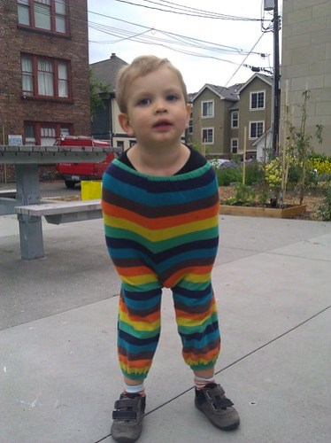 The Rainbow Tooth pantsuit