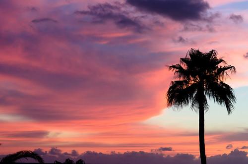 Sunset in Los Gigantes, Tenerife