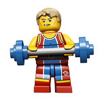 8909 Team GB Weightlifter