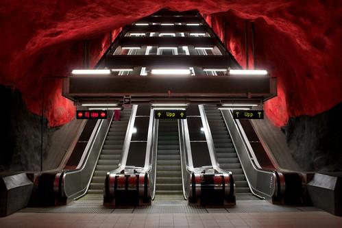 Foto: Solna Station