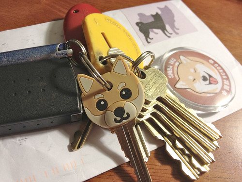 Shibafied clutch of keys