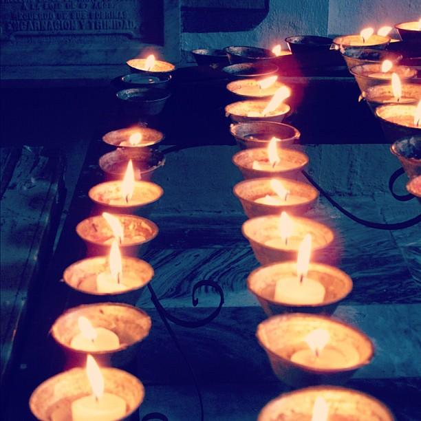 Light my candle #visitaiglesia #intramuros #philippines #manila
