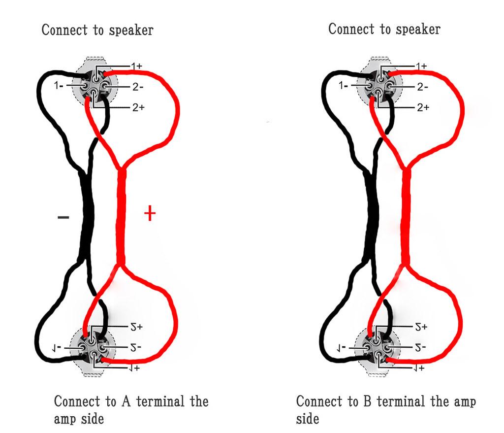 speaker wire diagrams