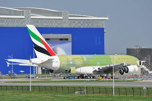 A380-861 MSN 0109 F-WWSN EK