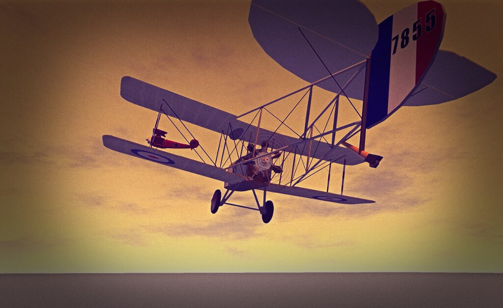 """The Western Front, 1917, in SL: """"Destruction came from the skies"""""""