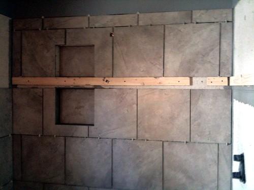 Bathroom Remodel, Day I've Lost Count: Tile!