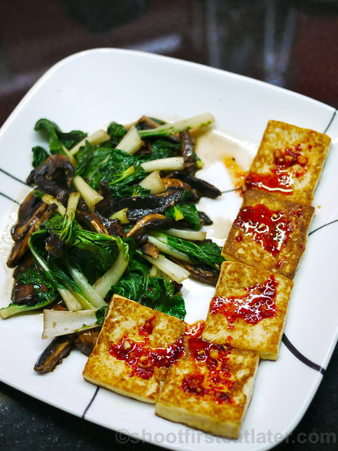 panfried tofu with spicy sauce -007