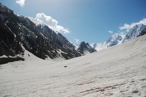 Thajiwas Glacier in Sonmarg, Kashmir