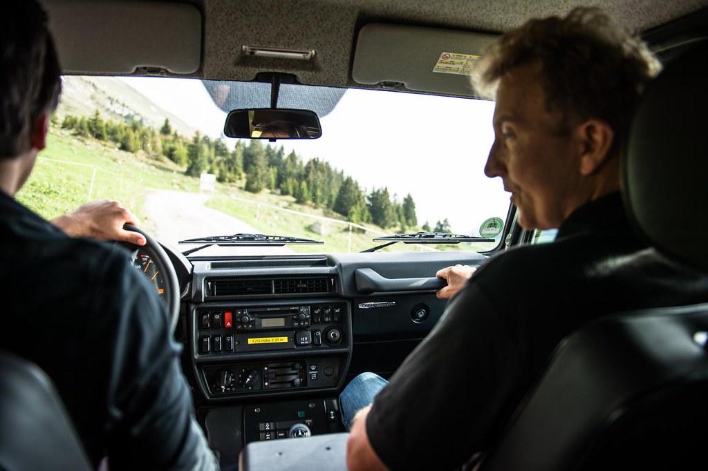 Mercedes Benz G-Class Professional interior
