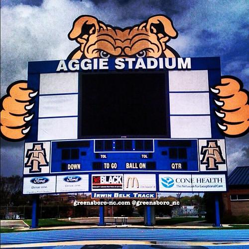 AGGIE STADIUM by Greensboro NC