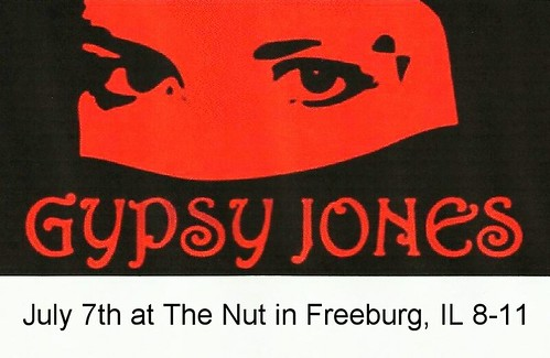Gypsy Jones 7-7-12, 8-11
