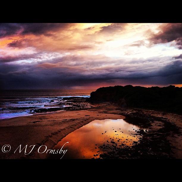 Coastline colours #igaustralia #sunset #coastal #naturalbeauty