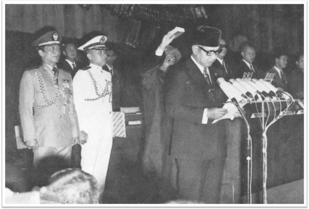Sumpah Presiden Soeharto 1