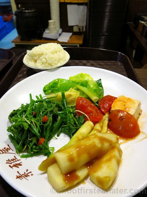 素雅屋 (vegetarian restaurant in Taimall, Taipei)-017