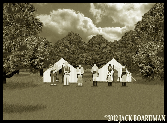 The McIntyre party reunited at their new headquarters ©2012 Jack Boardman