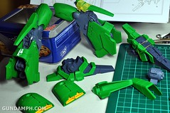 1-100 Kshatriya Neograde Version Colored Cast Resin Kit Straight Build Review (58)