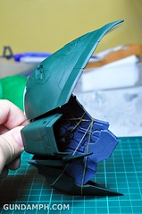 1-100 Kshatriya Neograde Version Colored Cast Resin Kit Straight Build Review (62)