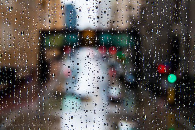Rainy day in Minneapolis