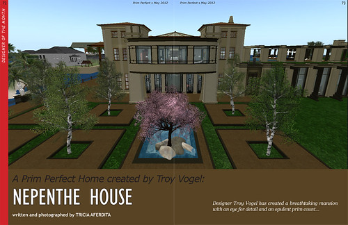 Prim Perfect: May 2012 - Designer Home of the Month