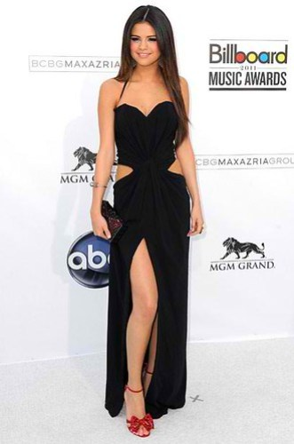 Selena Gomez in Tom Ford Cucci vintage