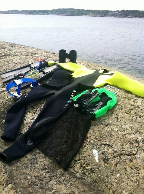 Utstyr for marinvegetarisk matauk