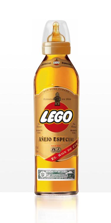 Wysokoprocentowy napój LEGO?