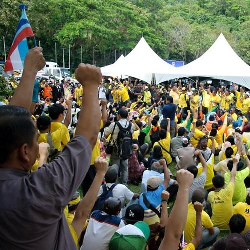 Bersih 3.0 Kota Kinabalu Unity and Solidarity.