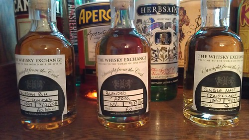 pour-your-own cask whiskies and rum from the whiskey exchange in europe