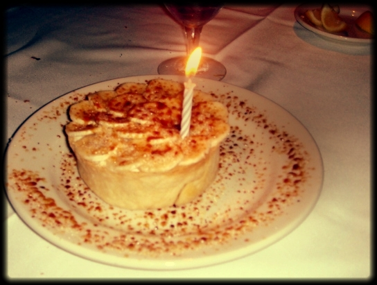 Birthday Banana Cream Pie
