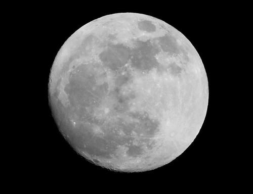 Full Moon over Mackinac Island