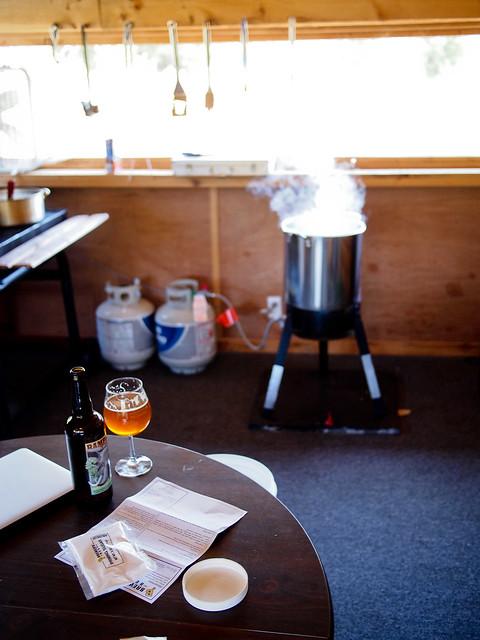1st HomeBrew - Last Boil