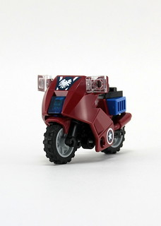 6865 Captain America's Avenging Cycle - Bike 2