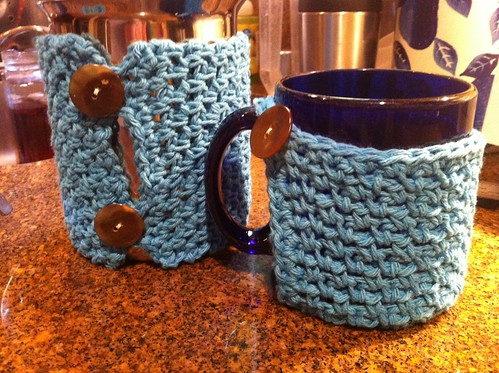 Mug and Coffee Carafe Cozy set