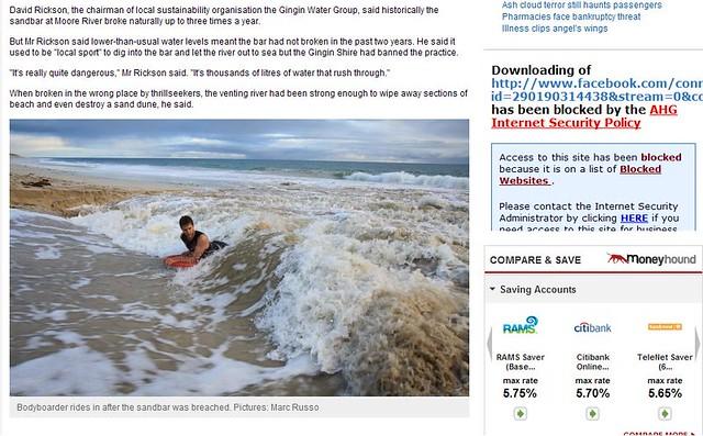 Taken off the West Australian news site part 2