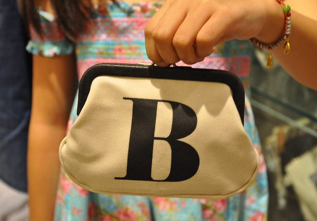 Alphabet Bags coin purse... B for BlauEarth