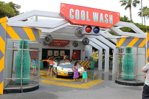 Cool Wash - Test Track at Epcot