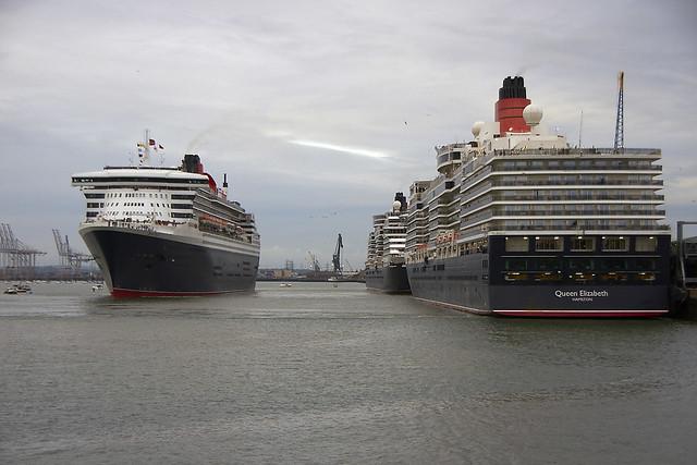 Cunard's 3 Queens