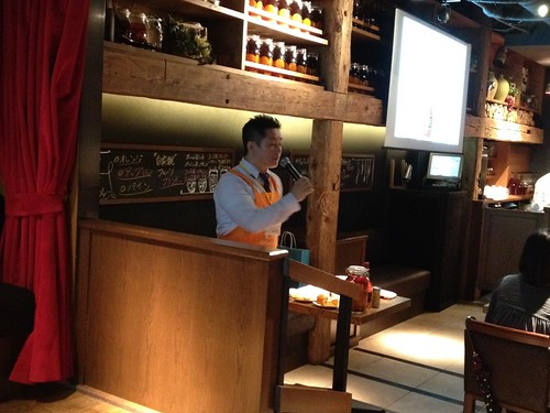 ご説明いただくのは竹内さん@新 つくって楽しい!ブランデースプリッツァー講座