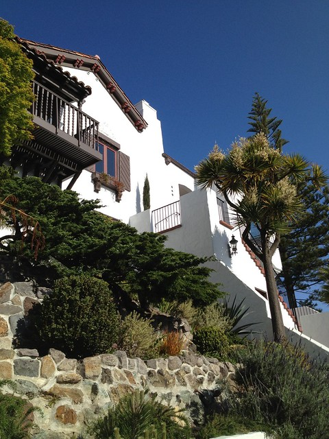 Hacienda style home, Roosevelt Way