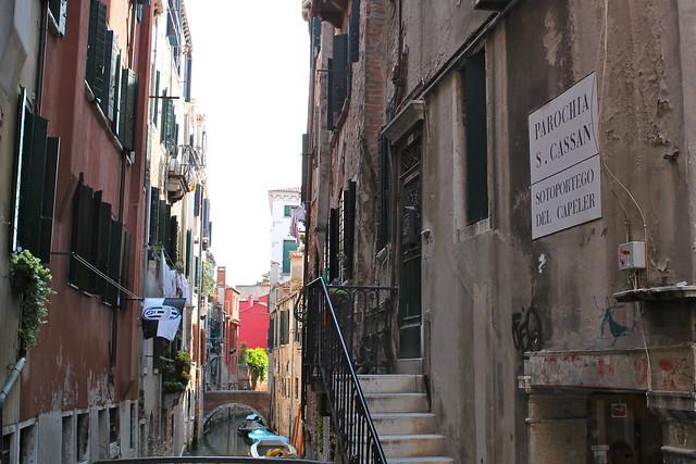Beautiful canals in Venice