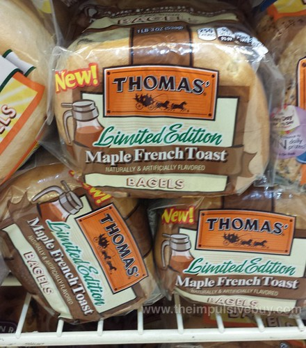 Thomas' Limited Edition Maple French Toast Bagels