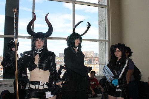 Gold Saw, Dead Master and Black Rock Shooter