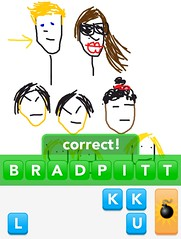 BRADPITT, Draw Something App