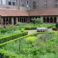 St. Marie's Cloister Garden