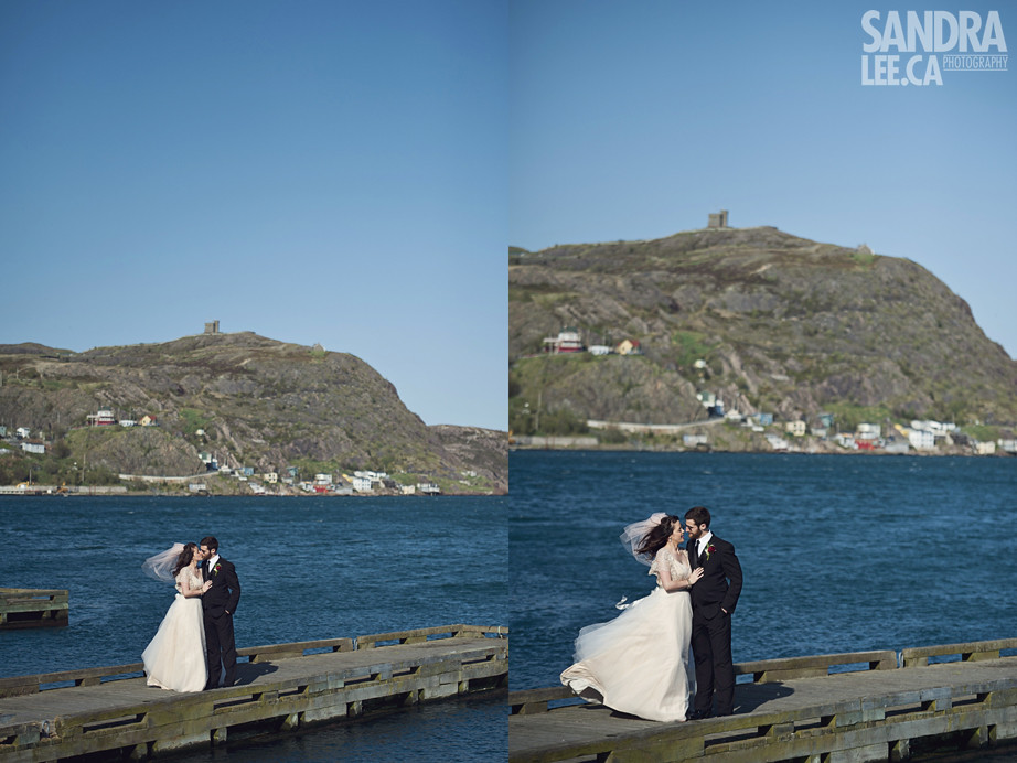 David + Ashley :: Intimate Modern Newfoundland Wedding