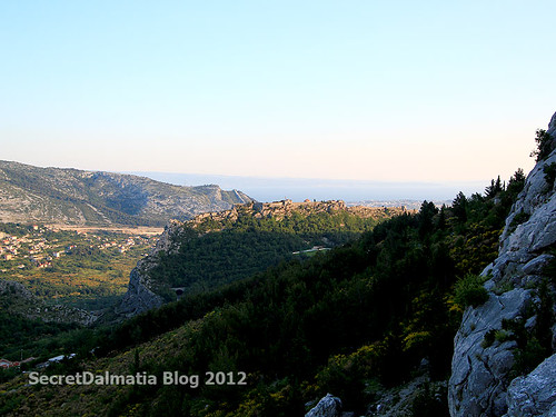 Klis fortress...from the hill above