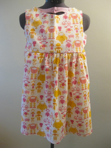 Cute Bot Sweetheart Dress