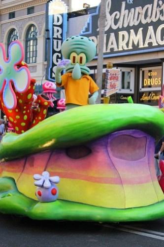 Squidward - Universal's Superstar Parade