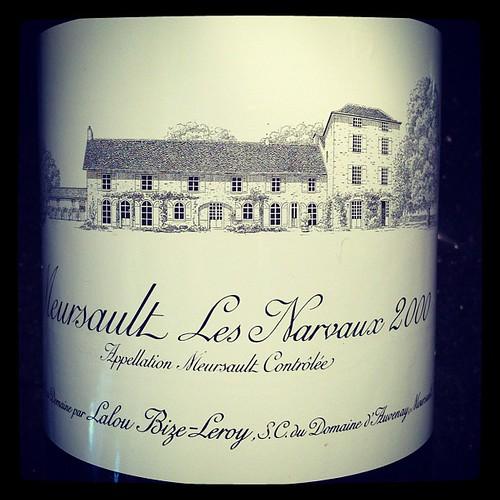 Meursault Les Narvaux 2000, Lalou Bize-Leroy